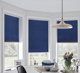 pleated blinds local blind shop specialists north wales chester